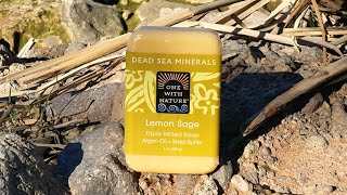 One with nature, dead sea Minerals, Lemon sage