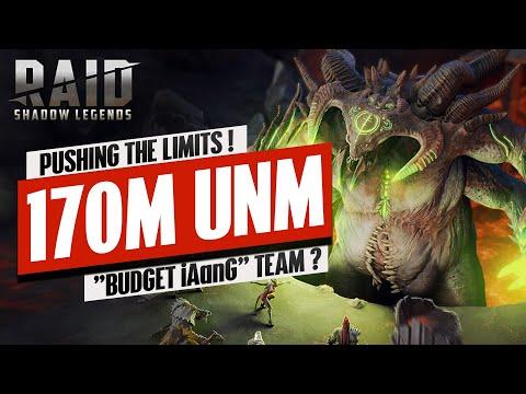 "170M UNM ""Budget Pavo"" Team!? | NO Krisk or Valkyrie | RAID: Shadow Legends"