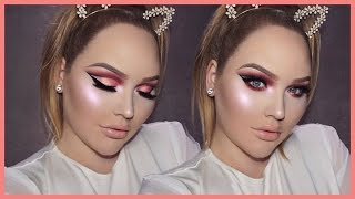 ROSE GOLD Cut Crease Smokey Eyes - THANKSGIVING Makeup Tutorial