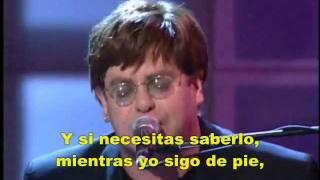 """""""I'm Still Standing"""" - Elton John [Subtítulos en español]."""