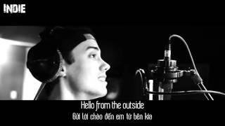 Lyrics+Vietsub Leroy Sanchez   Hello  Cover
