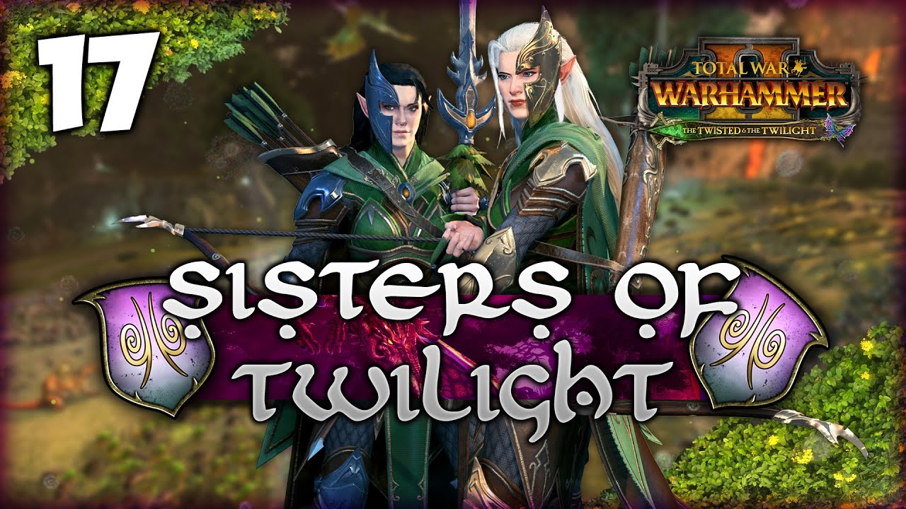 LionHeartx10 - RAT SMASHERS! Total War: Warhammer 2 - Heralds of Ariel - Sisters of Twilight Campaign #17