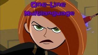 "Kim Possible (One-Line Multilanguage) | ""Call Me, Beep Me If You Wanna Reach Me!"""