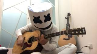 Marshmello alone fingerstyle by MarkChen guitar live