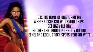 Foxy Brown - B. K. Anthem (Lyrics - Video)
