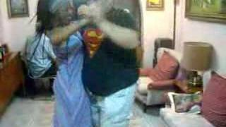 Superman baila