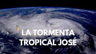 La tormenta tropical José gana fuerza en el Atlántico