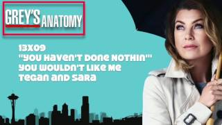 "Grey's Anatomy Soundtrack - ""You Wouldn't Like Me"" by Tegan and Sara (13x09)"