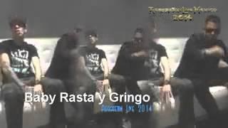 Confirmación Baby rasta y gringo en Reggateon Live 2014