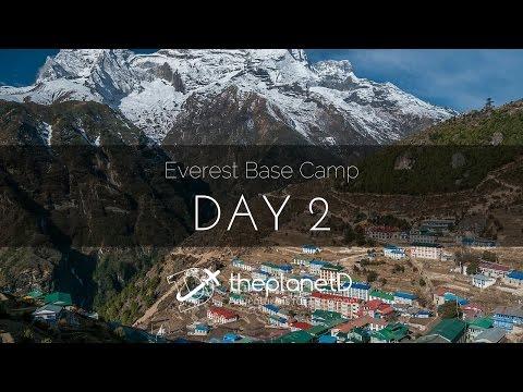 Everest Base Camp Trek Day 2 in 2 minutes
