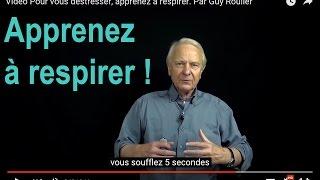 Vidéo Comment se relaxer par la respiration diaphragmatique