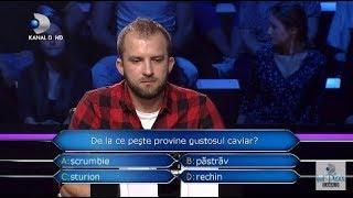 Vrei sa fii milionar? (27.11.2018) - De la ce peste provine gustosul caviar?