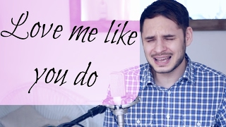 Love Me Like You Do - Ellie Goulding Live Acoustic Piano Cover (Jon Hickman)