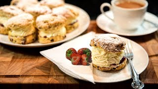 How to make English tea Scones width=
