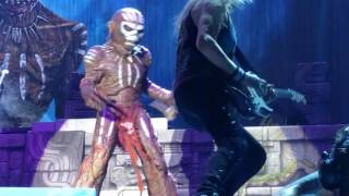 Iron Maiden - The Book of Souls - Eddie on stage ( live in Bucharest 2016)