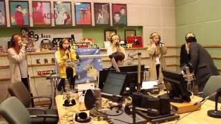 [150324] Red Velvet - Ice Cream Cake Rehearsal (Super Junior's Kiss the Radio)