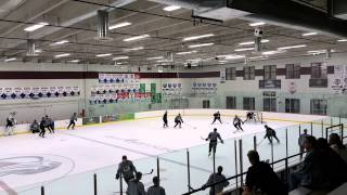Avalanche vets practicing 2015 training camp
