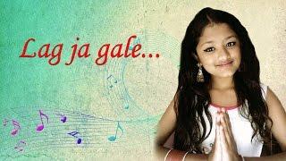 "NEPALI GIRL SINGING.  Lag ja gale ""classic Hindi song"