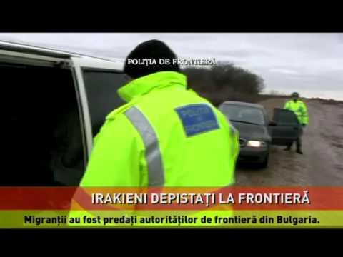 Irakieni depistați la frontieră
