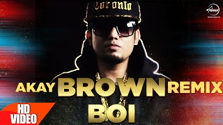 Brown Boi (Remix) | A-Kay | Punjabi Remix Song Collection | Speed Records width=