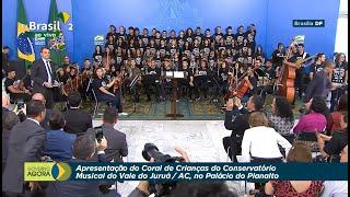Apresentação do Coral de Crianças do Conservatório Musical do Vale do Juruá/AC