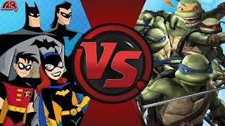 Bat-Family vs TMNT: Cartoon Fight Club Trailer