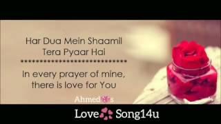 har dua me shamil tera pyaar h! bin tere lamha bhi bushwar h! best whats app story video!must watch