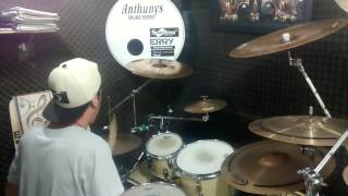 Pearl Jam -Last Kiss Drum Cover (by Gabriel Delourence)