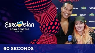 60 Seconds with Valentina Monetta & Jimmie Wilson
