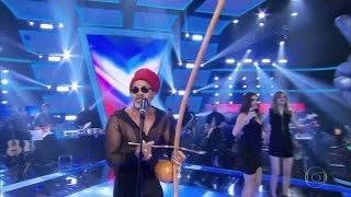 Carlinhos Brown canta Meia Lua Inteira - Caetano Veloso | The Voice Brasil 2016 3º dia Final 20/10