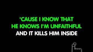 Karaoke Unfaithful-Rihanna