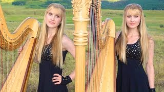 DON'T STOP BELIEVING (Journey) Harp Twins - Camille and Kennerly HARP ROCK