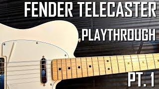 FENDER TELECASTER | PT. 1 PLAYTHROUGH | ROCK DEMO | OWNHAMMER IR | LINE 6 HELIX RACK | SJSS