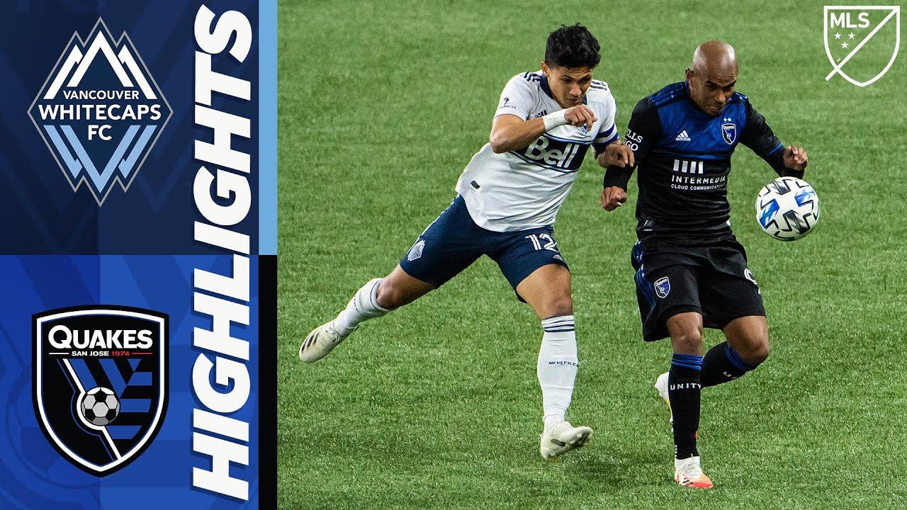 Vancouver Whitecaps FC v San Jose Earthquakes – MLS