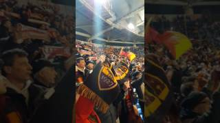 Roma Sassuolo 3-1 anthem live from Olimpico Stadio
