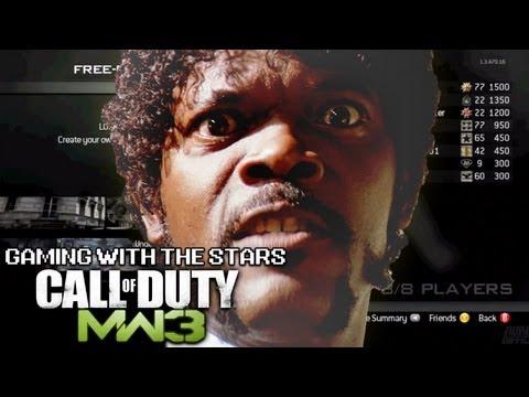 Gaming with the Stars - Samuel L. Jackson Plays Modern Warfare 3