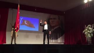 Bayrak Şiiri - Mehmet Bozkurt (2016)             Böyle güzel okunmadı!