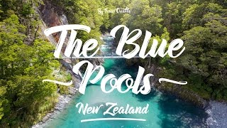 Things to do in South Island New Zealand : Blue Pools, Hasst Pass