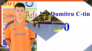 Goluri Dunarea Calarasi - Muncitorul Resita 6-2