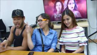 BLOOPERS | Kris Bernal, Vaness Del Moral and Sinon Loresca for #IMPOSTORA
