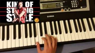 "Shinsuke Nakamura easy WWE Theme on piano - ""The rising sun"""