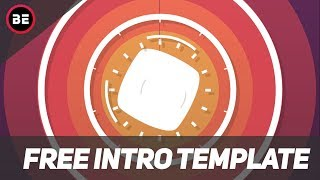 FREE ! 2D Animation Intro Template | 4K / Full HD | No Text | Any Software | #9