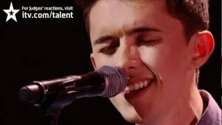 Ryan O'Shaughnessy First Kiss - Britain's Got Talent 2012 Live Semi Final
