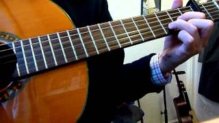 """""""Before The Throne Of God Above"""" guitar cover (Tune: Parry / Jerusalem)"""