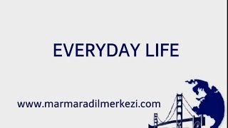 Daily Routines - Everyday Life - Learn English - Simple Present Tense