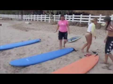 1st Lesson – Chica Brava Surf Camp, Nicaraugua