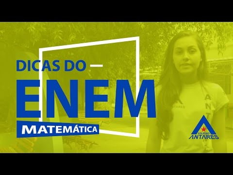 Dicas do Enem #26 - Matemática
