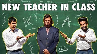 When New Teacher comes in Class | The Half-Ticket Shows