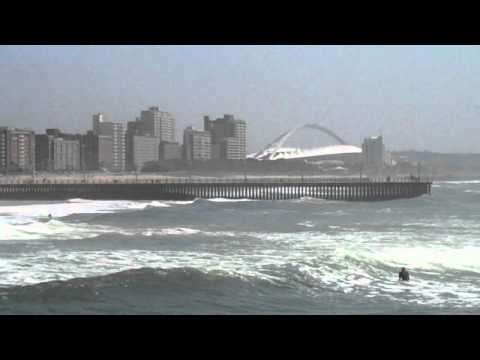 Durban South Africa Waterfront Surfing
