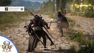 Assassin's Creed Origins - Overdesign Trophy - Kill poisoned 35+ enemy w/ a torch within 30 seconds.